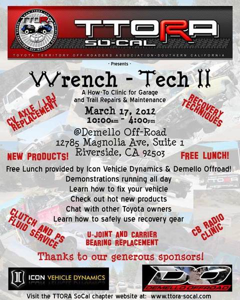 Wrench-Tech II flyer